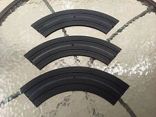 Aurora HO Slot Car Track 9in Radius 1/4 Section 1519 Vintage 1963 1969 Set Of 3