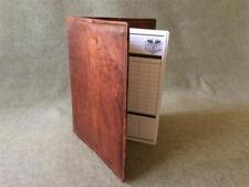 Handmade Goat Leather Bookcover BCHC Spirax Hardback Book Billy Goat Designs
