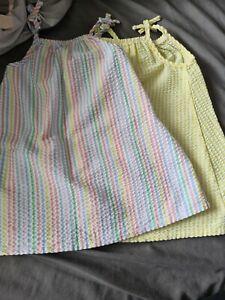 Two toddler girls Summer Dresses