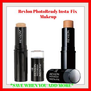 Revlon Photo-ready Insta-Fix Makeup Foundation Stick, PICK YOUR SHADE