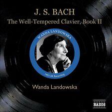 3CD J.S. BACH The Well-Tempered Clavier Book II WANDA LANDOWSKA harpsichord