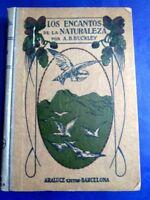 ENCANTOS DE LA NATURALEZA - ARABELLA BUCKLEY XRARE SPANISH ED. - 105 ENGRAVINGS