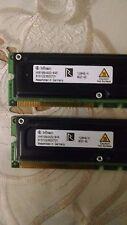 (2x128MB)=256MB Infineon PC800-45 RDRAM HYR166440G-845 A1S1223500701 RIMM Rambus