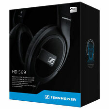 SENNHEISER HD 569 Over-Ear Noise Isolating Headphones with Mic - FULL WARRANTY