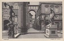 Cartolina Postale - Florenz / Firenze - Loggia de Lanzi