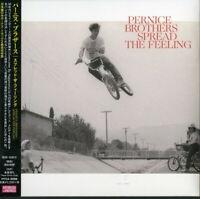 PERNICE BROTHERS-SPREAD THE FEELING-JAPAN CD BONUS TRACK E78