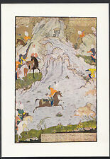 British Museum Postcard - Bahram Gur Hunting Painted By Sultan Muhammad  LC5144