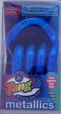 Tangle Jr Metallic Fidget Sensory Toy Blue Autism SPED Aspergers ADHD Classroom