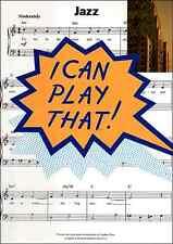Posso interpretare che-JAZZ-facile per pianoforte Spartito LIBRO MUSICA CANZONI standard