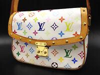 LOUIS VUITTON Sologne Crossbody Shoulder Bag Monogram Multicolor M92661 V-3486