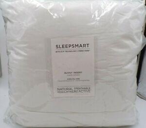 Pottery Barn Sleepsmart Regulating Down Alternative Duvet Insert King White 9793