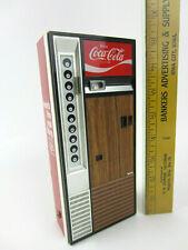 1970's Jack Russell Coca Cola Coke Vendo Bottle Machine Transistor Radio Japan