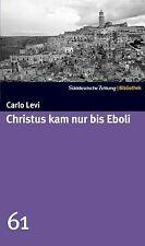 Christus kam nur bis Eboli. SZ-Bibliothek Band 61 v... | Buch | Zustand sehr gut