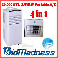 NEW REVERSE CYCLE 10000 BTU PORTABLE 4-in-1 AIR CONDITIONER HUMIDIFIER HEATING