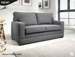 Jay-Be Modern Fabric Sofa Bed 2 Seater with 2000 Pocket Spring mattress