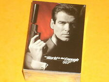 James Bond 'The World Is Not Enough' Complete Base Set Of 90 Trading Cards