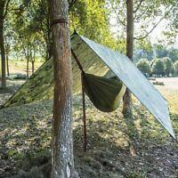 Waterproof Tent Tarp Rain Cover Sun Shade Hammock Shelter Camping Picnic Pad Mat