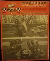 1986 Williams Grove Speedway Program Vol 2 Keith Kauffman Free Shipping