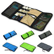 Portable Fashion Gift Chosen Rollable Pouch Bag Case for Digital Accessories jcb