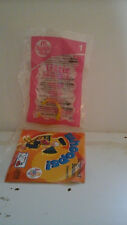 NEW IN PACKAGE McDONALD'S HAPPY MEAL 2004 LIZZIE McGUiRE #1 BRACELET AND CD