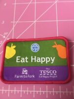 Tesco Eat Happy Girlguiding Badge / Patch Farm To Fork. Guides Rainbows Brownies