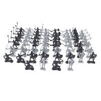 60 stück Medieval Ritter Soldaten Infanterie Figuren Spielset Spielzeug