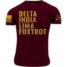 Grunt estilo dilf T-Shirt-Granate