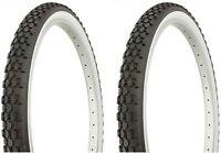 Duro White Wall Tires 26x2.125 (2 Tires, 2 Tubes, 2 Rim Strips)