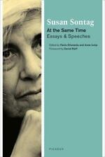 At the Same Time: Essays and Speeches, Sontag, Susan, Very Good Book