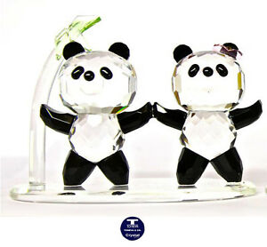 """[SPECIAL OFFER] """"Two Standing Pandas"""" Austrian Crystal Figurine was AU$152.00"""