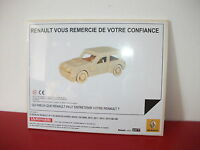 renault 5 R5 turbo maquette en bois l'automobile magazine cadeau renault Elf