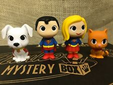 Funko DC Super Heroes & Pets Mystery Minis Superman Krypto Supergirl Streaky Cat