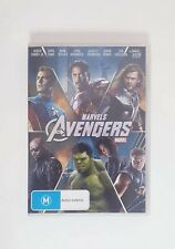 Marvels The Avengers DVD MCU First Avengers Movie