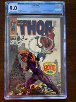 The Mighty Thor #140 CGC 9.0 (Marvel 1967)  1st appearance of Growing Man.