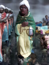 1 dei re magi TERRACOTTA 8 cm pastori presepe nativity shepherds crib p