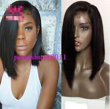 Heat Resistant Synthetic Hair Lace Front Wig Wigs Straight Bob Short Bob Hair
