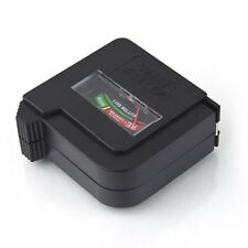 Digital LCD Battery Tester C D N AA AAA 9V 1.5V Button Cell Checker Universal