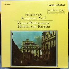 Living Stereo WD HERBERT VON KARAJAN beethoven symphony no 7 LP Mint- LSC-2536