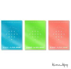 TREASURE 1st ALBUM [THE 1ST STEP:TREASURE EFFECT]+PREORDER KPOP SEALED+TRACKING