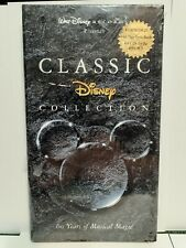 Classic Disney Collection 60 Years Of Musical Magic 4 Cd Set With Lyric Book New