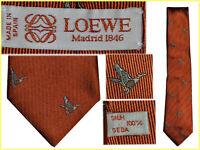 LOEWE Corbata hombre 100% Seda Hand Made  !A PRECIO DE SALDO¡ LW01 T0G