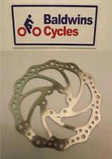 160mm Diameter 6 Bolt ISO Brake Disc For Mountain / Hybrid Bikes