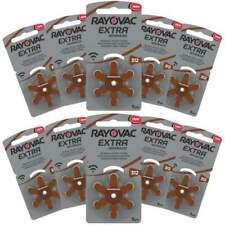 60x Piles pour aides auditives Rayovac Extra Da312 312 Pr41