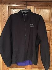 Arcteryx Atom Lt Pullover, Men's Medium, Excellent, Black Ski Jacket Coat