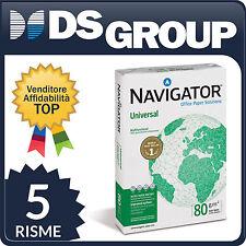 Carta da fotocopie Navigator Universal 80g/mq A4 2pz risma Stampante