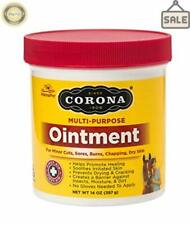 Corona Ointment for Horses Lanolin-Based Formula Helps Sooth irritation Ounces
