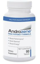 Androzene High Potency Natural Male Enhancement Boost Stamina Energy 90 Tablets!