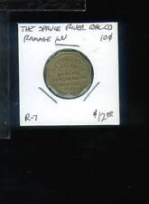 CR) Coal Scrip Spruce River Coal Co 10 cent R-7 Ramage WV