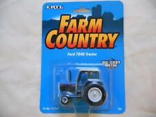 Ertl Farm Country Toy Ford New Holland 7840 2WD Tractor MIP 1/64!