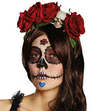 La Calavera Catrina Haarreif NEU - Karneval Fasching Hut Mütze Kopfbedeckung